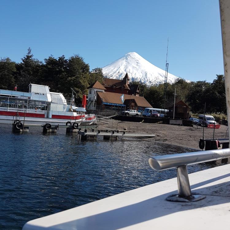 Volcan Osorno, desde Lago Todos Los Santos